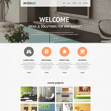 Website Template № 46815