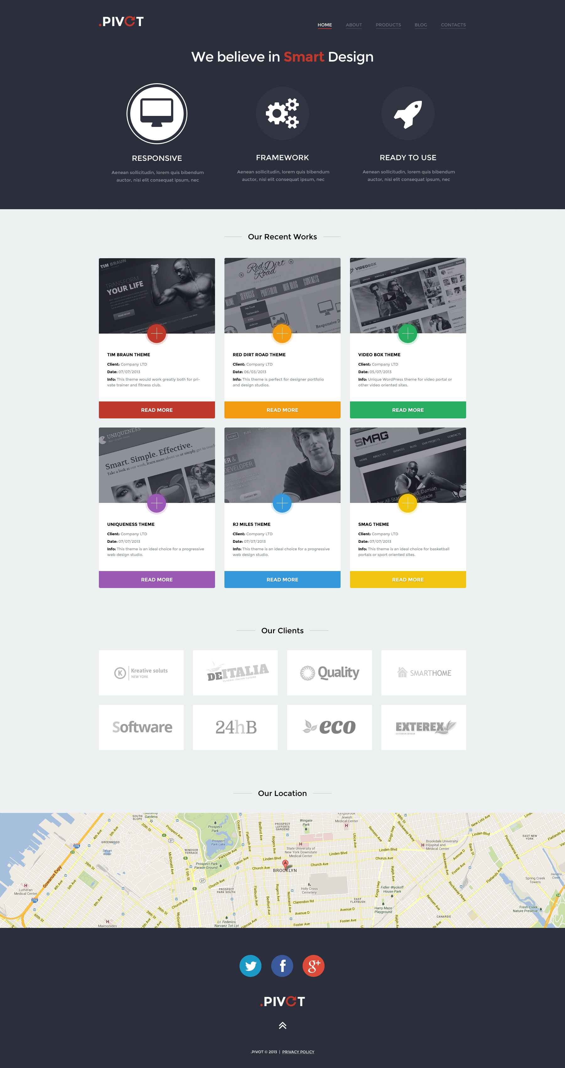 Unobtrusive Design Studio WordPress Theme
