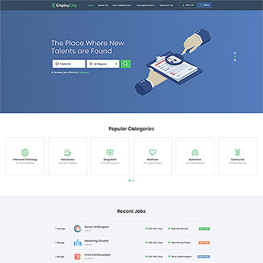 HTML/CSS Template #47127