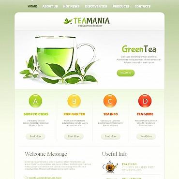Template Mâncare și băutură Moto CMS HTML #47214