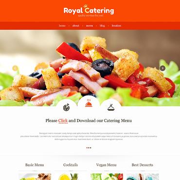 Template Mâncare și băutură HTML, JS şi CSS #47307