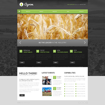 Website Template № 47311