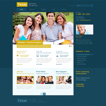 Website Template № 47344