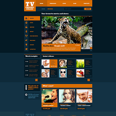 Website Template № 47350