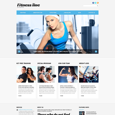 Website Template № 47356