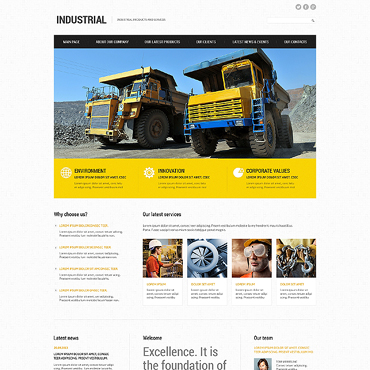 Website Template № 47364