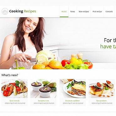 Template Mâncare și băutură Moto CMS HTML #47370