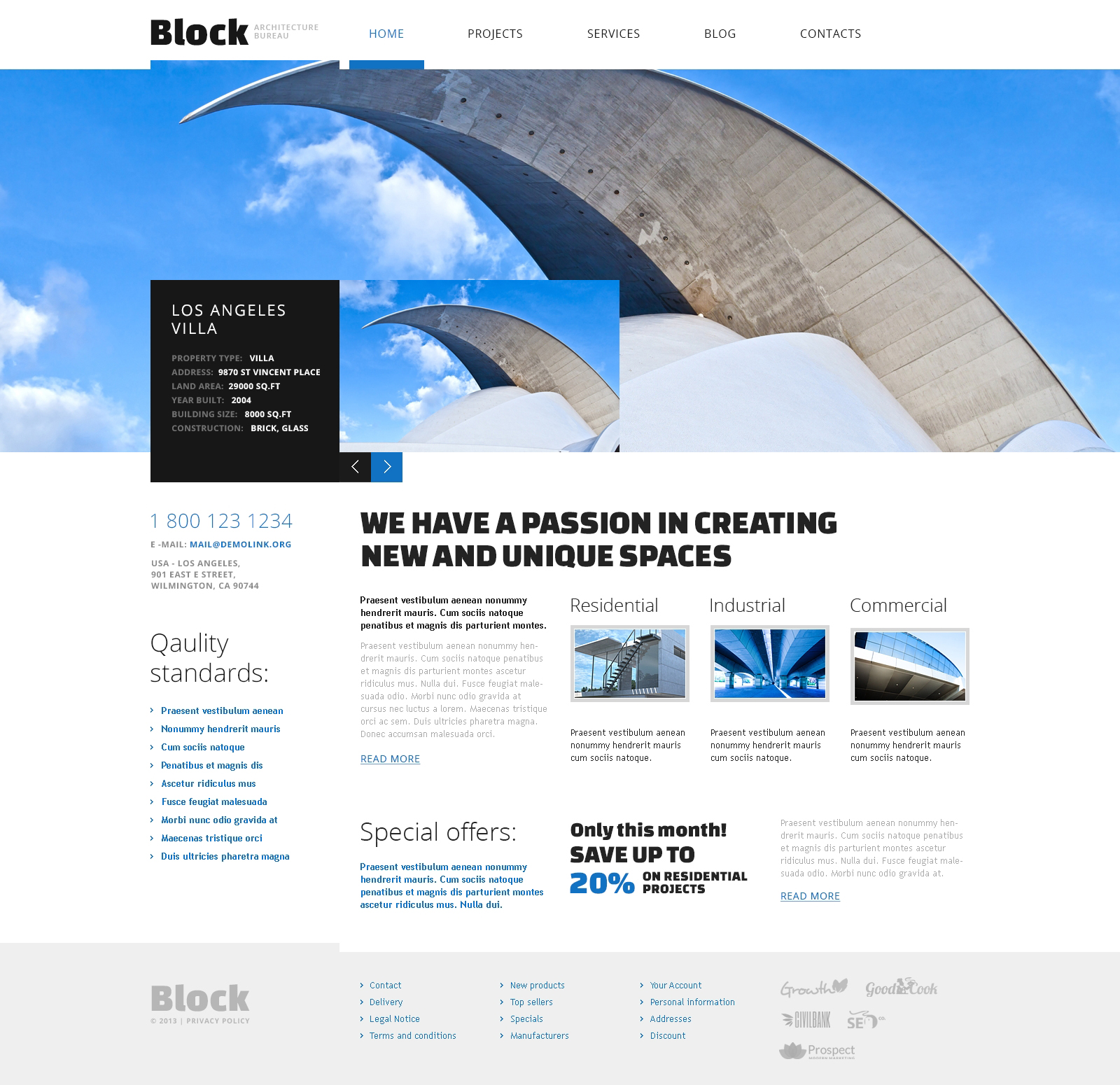 Architecture Firm WordPress Theme