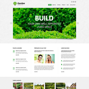 Website Template № 47431