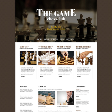 Website Template № 47434