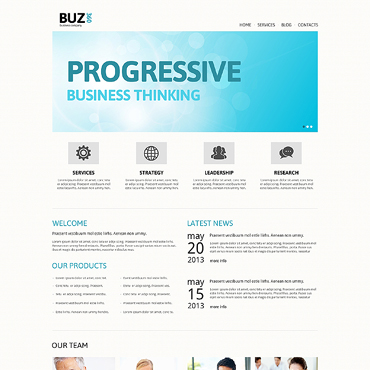 Website Template № 47487