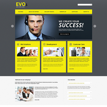 Website Template № 47494