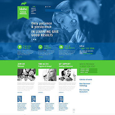 Website Template № 47507