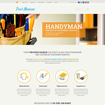 Website Template № 47509