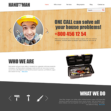 Website Template № 47510
