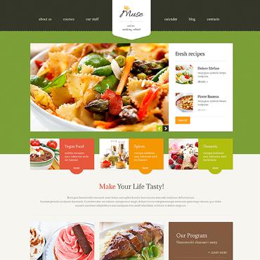 Template Mâncare și băutură WordPress #47529
