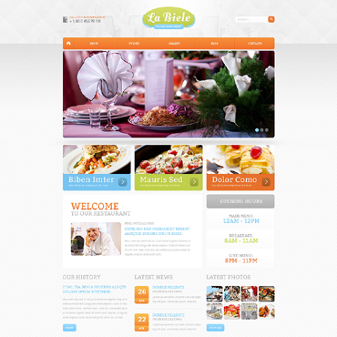 Website Template № 47585
