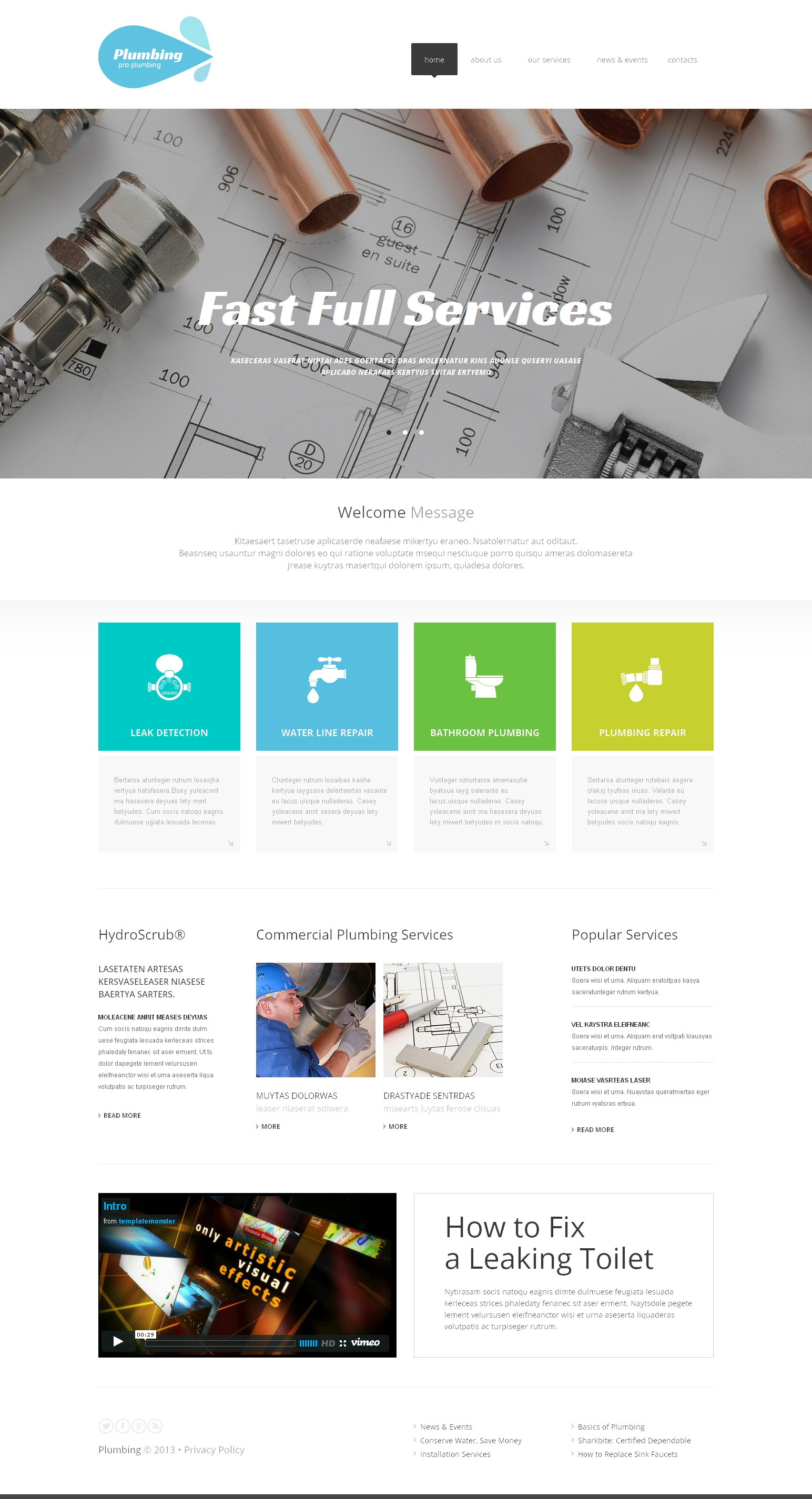 HTML Πρότυπα Χωρίς Διαχειριστικό