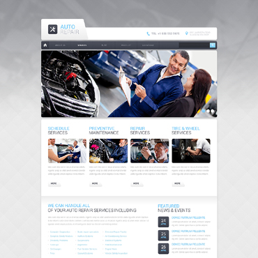 Website Template № 47608