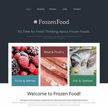 Template Mâncare și băutură Moto CMS HTML #47660