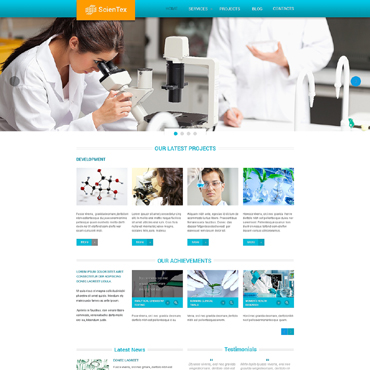 Website Template № 47685