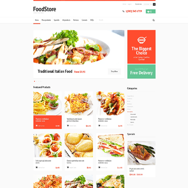 Website Template № 47826