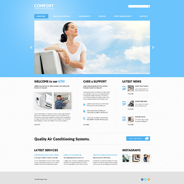 Website Template № 47849