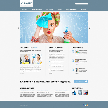 Website Template № 47850