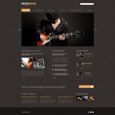 Website Template № 47851