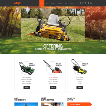 Website Template № 47859