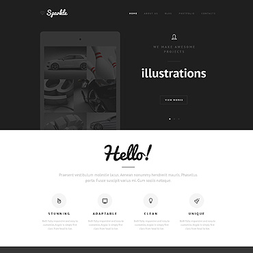 Website Template № 47907