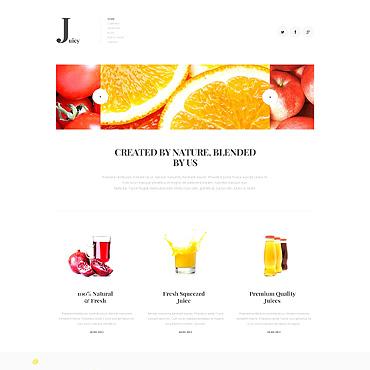 Template Mâncare și băutură Joomla #47910