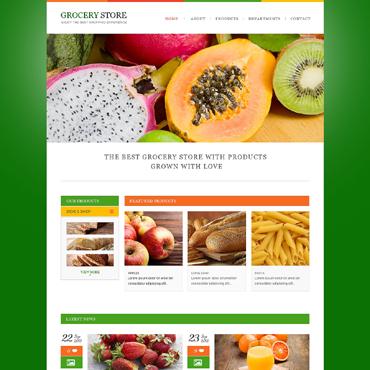Template Mâncare și băutură HTML, JS şi CSS #47911