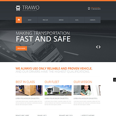 Website Template № 47914