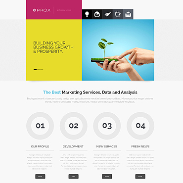 Website Template № 47915