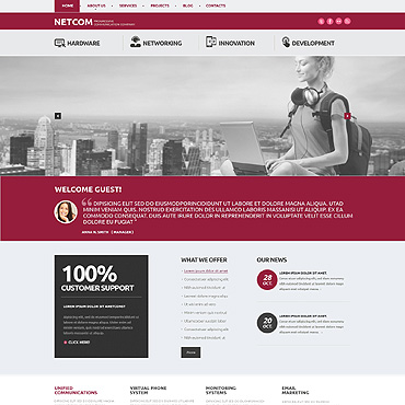 Website Template № 47924
