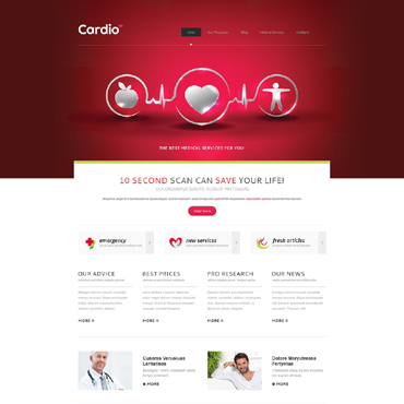 Website Template № 47947