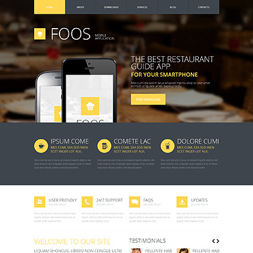 Website Template № 48084