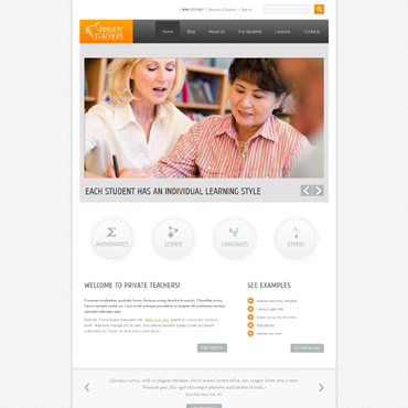 Website Template № 48236