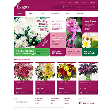 Website Template № 48243