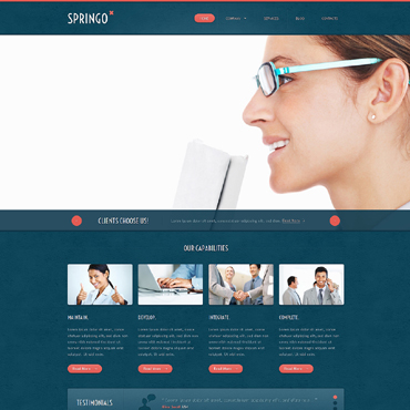 Website Template № 48262