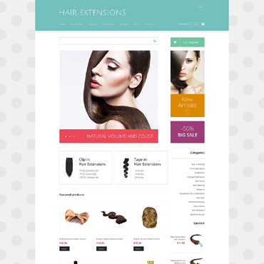 Website Template № 48267