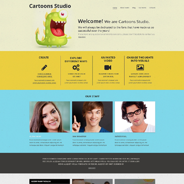 Website Template № 48282