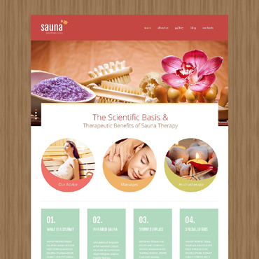 Website Template № 48307