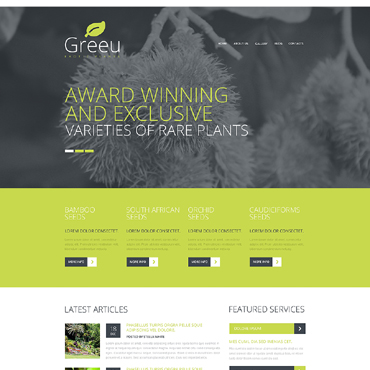 Website Template № 48350
