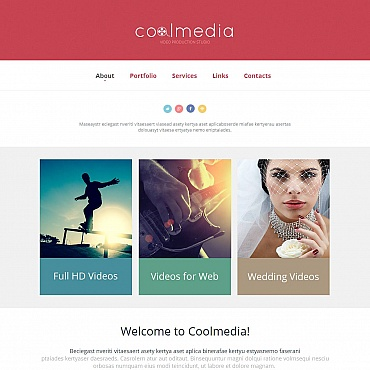 Website Template № 48376