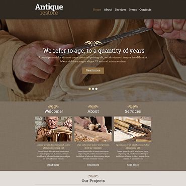 Website Template № 48393