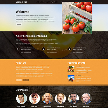 Website Template № 48402