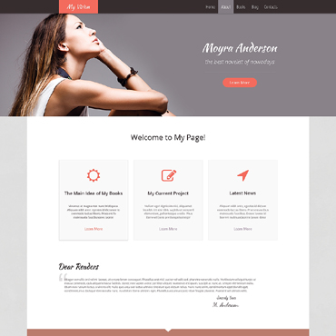 Website Template № 48470