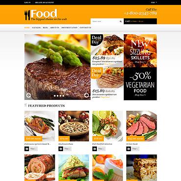 Template Mâncare și băutură Shopify #48535